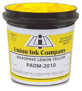 Union screen printing ink